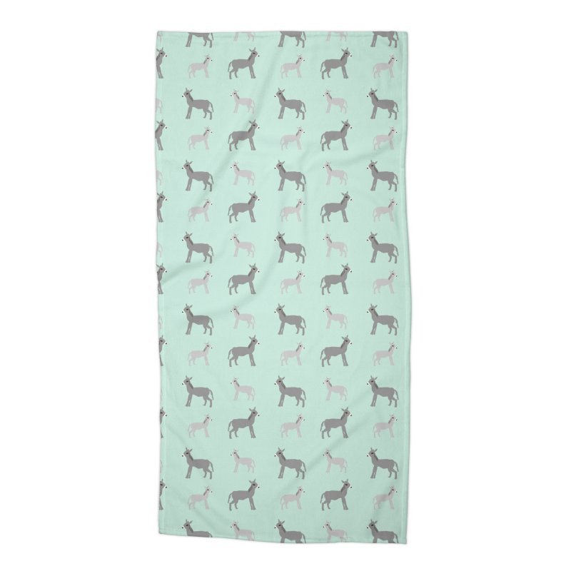 Donkeys Accessories Beach Towel by Southerly Design Artist Shop