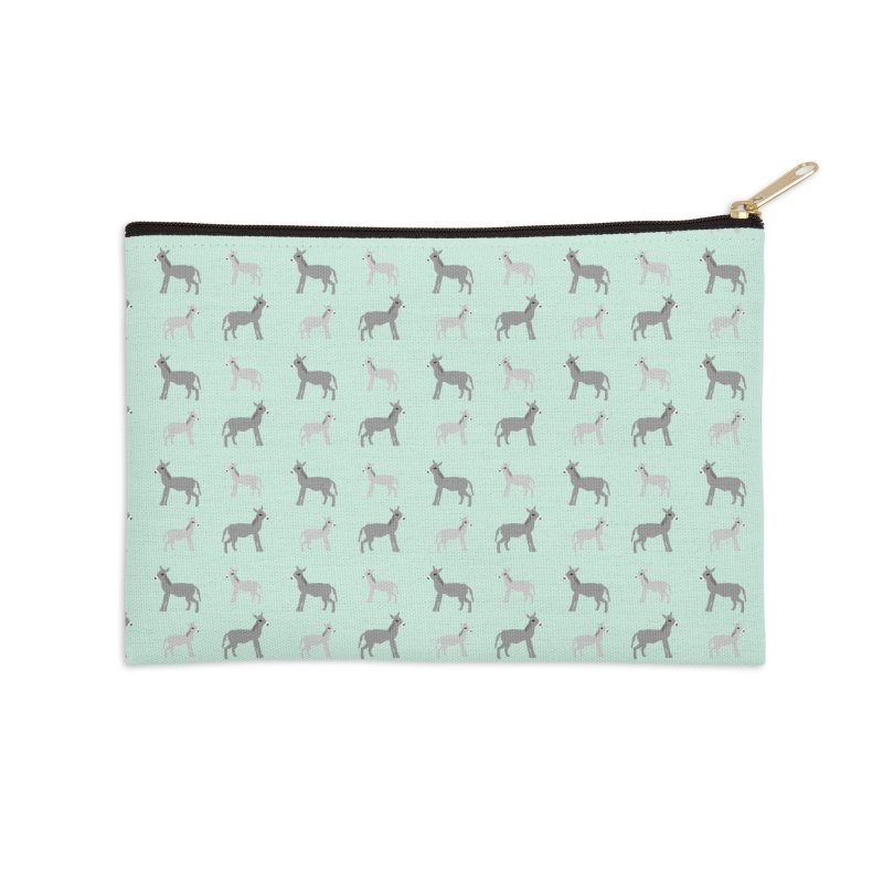 Donkeys Accessories Zip Pouch by Southerly Design Artist Shop