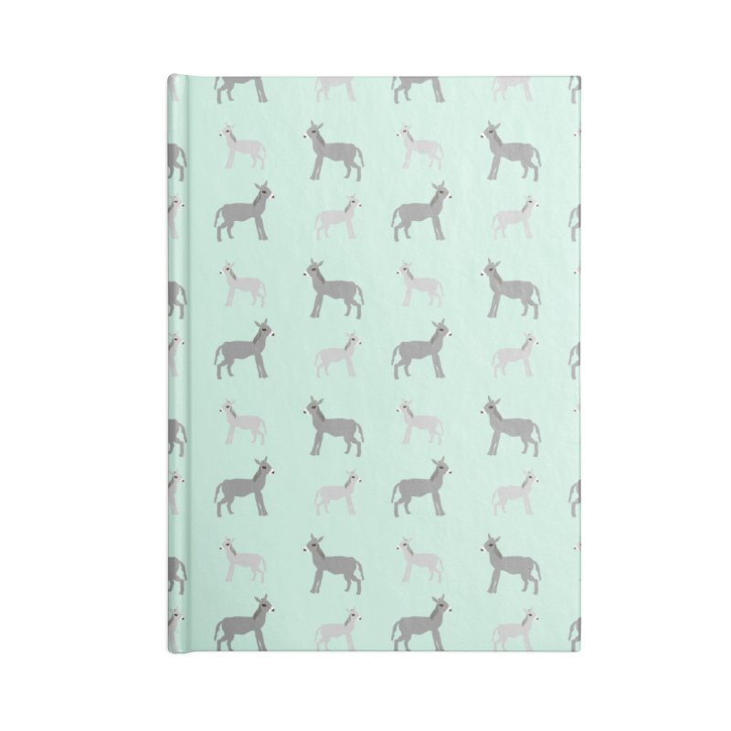 Donkeys Accessories Lined Journal Notebook by Southerly Design Artist Shop
