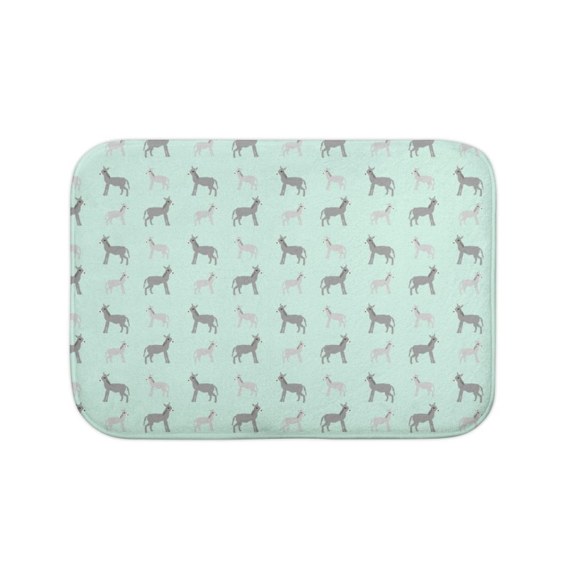 Donkeys Home Bath Mat by Southerly Design Artist Shop