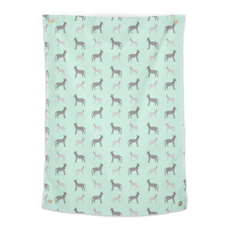 Donkeys Home Tapestry by Southerly Design Artist Shop