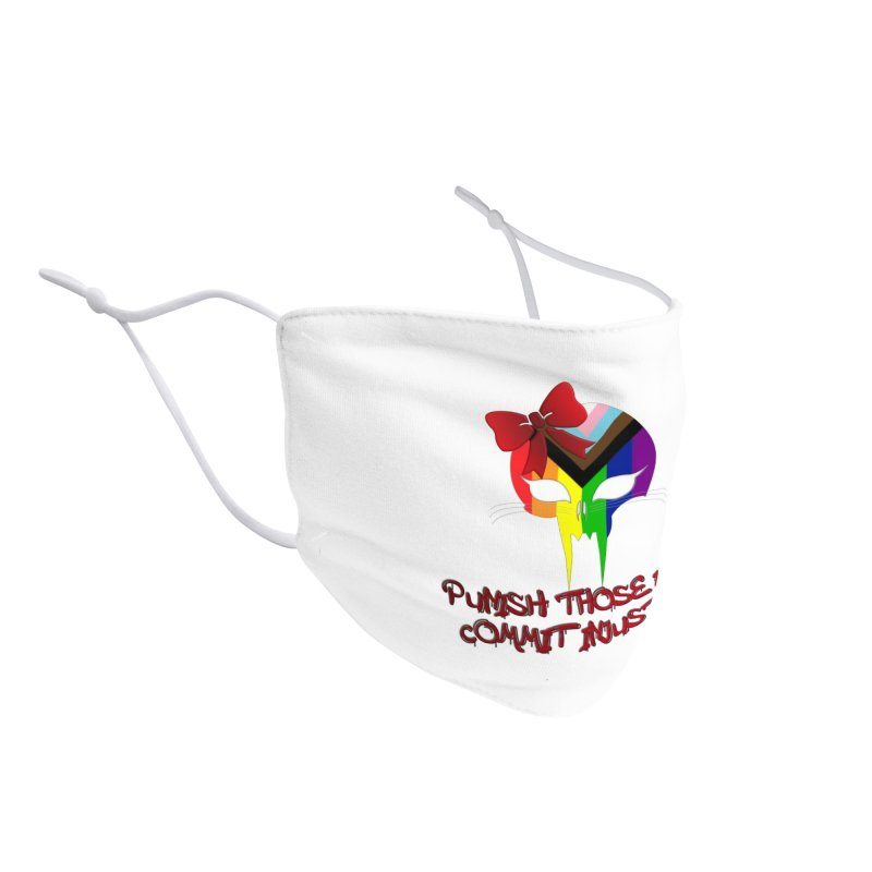 Punish Those Who Commit Injustices Accessories Face Mask by southernqueerpride's Artist Shop