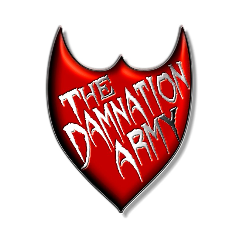 Damnation Army Shield Women's V-Neck by southernqueerpride's Artist Shop