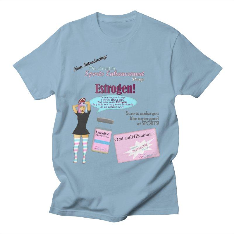 Sports Enhancement Drugs Men's T-Shirt by southernqueerpride's Artist Shop