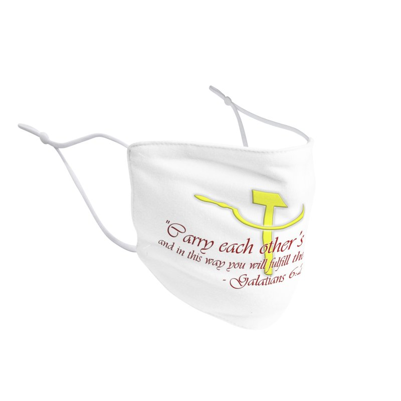 Carry Each Other's Burdens Accessories Face Mask by southernqueerpride's Artist Shop