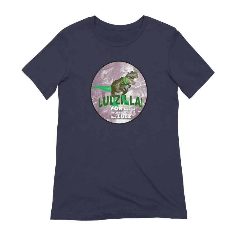 Lulzilla Logo Women's Extra Soft T-Shirt by PGMercher  - A Pretty Good Merch Shop