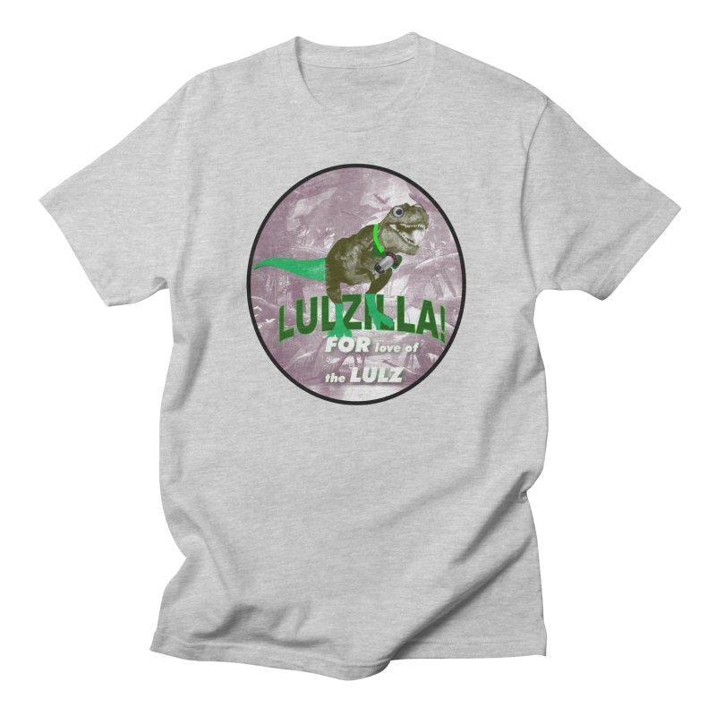 Lulzilla Logo Men's T-Shirt by PGMercher  - A Pretty Good Merch Shop