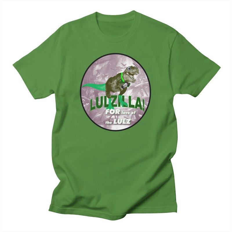 Lulzilla Logo Women's T-Shirt by PGMercher  - A Pretty Good Merch Shop