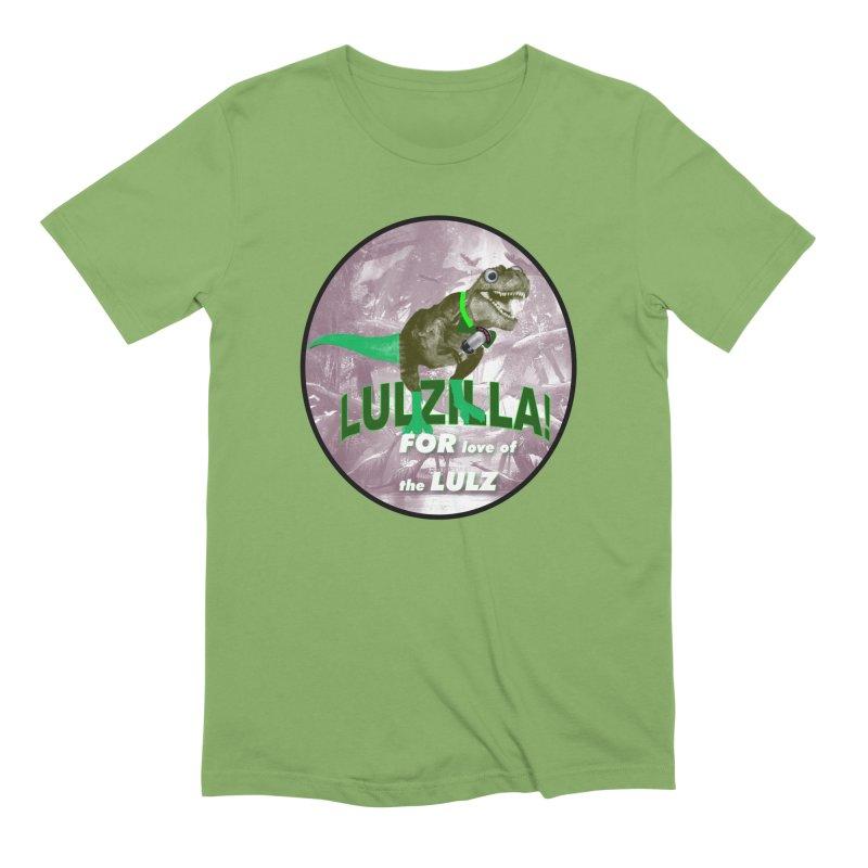 Lulzilla Logo Men's Extra Soft T-Shirt by PGMercher  - A Pretty Good Merch Shop
