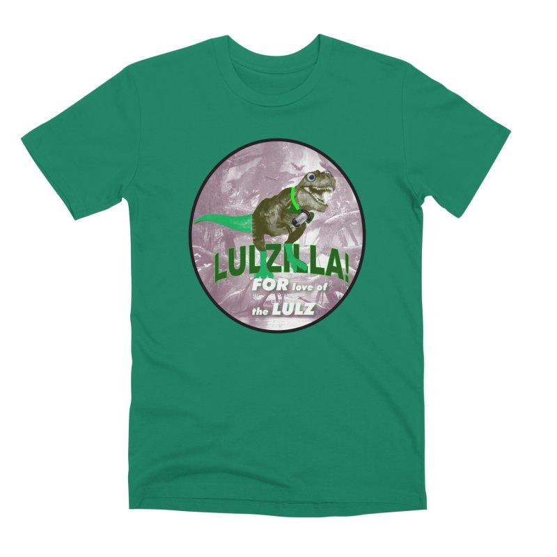 Lulzilla Logo Men's Premium T-Shirt by PGMercher  - A Pretty Good Merch Shop