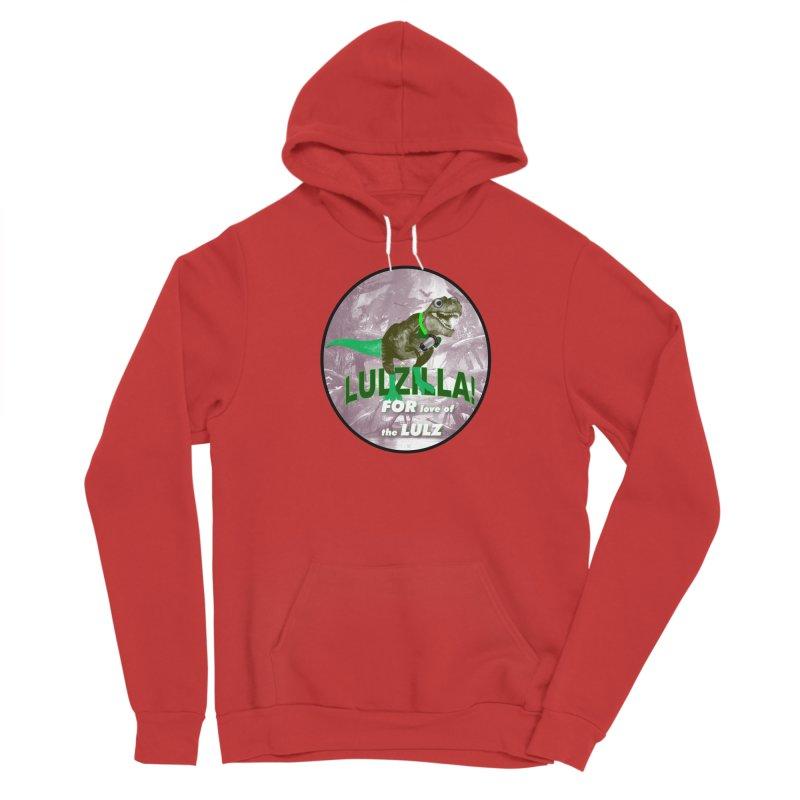 Lulzilla Logo Men's Pullover Hoody by PGMercher  - A Pretty Good Merch Shop