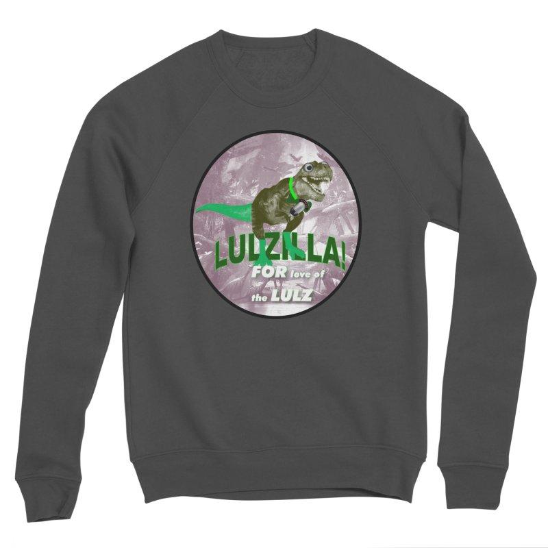 Lulzilla Logo Women's Sponge Fleece Sweatshirt by PGMercher  - A Pretty Good Merch Shop