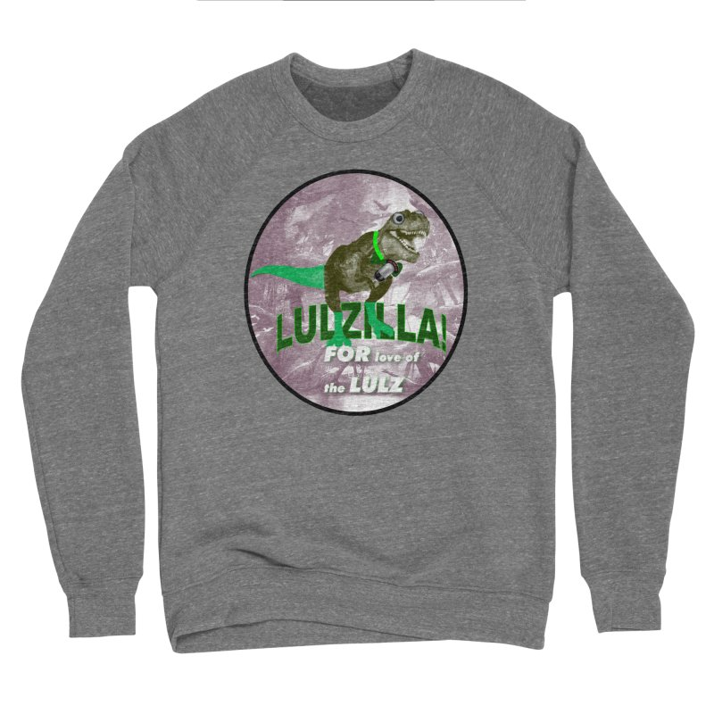 Lulzilla Logo Men's Sweatshirt by PGMercher  - A Pretty Good Merch Shop