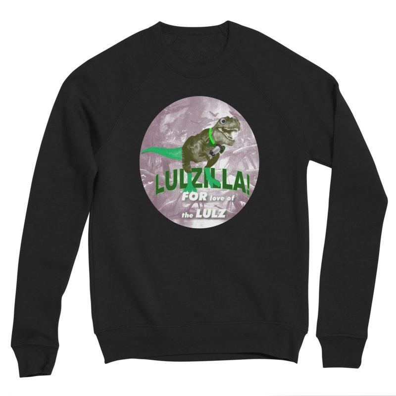 Lulzilla Logo Men's Sponge Fleece Sweatshirt by PGMercher  - A Pretty Good Merch Shop