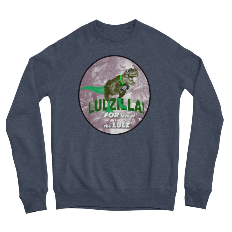 Lulzilla Logo Women's Sponge Fleece Sweatshirt by PGMercher  - A Pretty Good Merch Shop