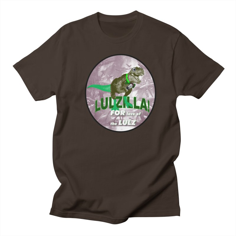 Lulzilla Logo Men's T-Shirt by PGMercher  - A Pretty Good Merch Shop