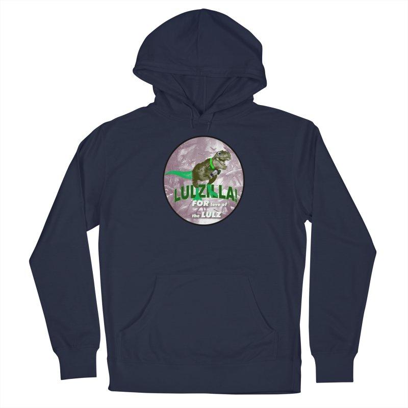 Lulzilla Logo Women's Pullover Hoody by PGMercher  - A Pretty Good Merch Shop