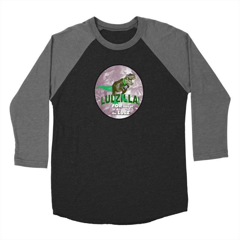 Lulzilla Logo Women's Longsleeve T-Shirt by PGMercher  - A Pretty Good Merch Shop