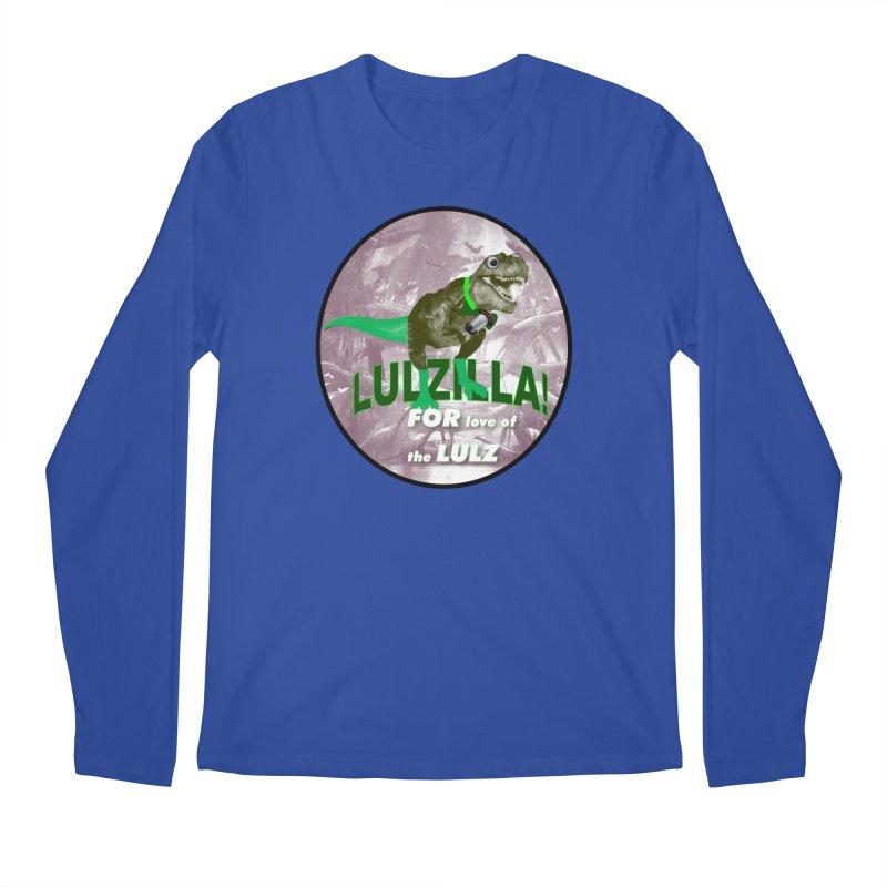 Lulzilla Logo Men's Longsleeve T-Shirt by PGMercher  - A Pretty Good Merch Shop