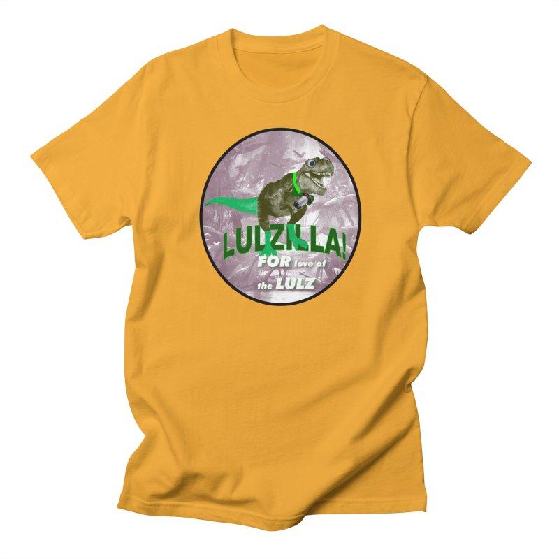 Lulzilla Logo Women's Regular Unisex T-Shirt by PGMercher  - A Pretty Good Merch Shop