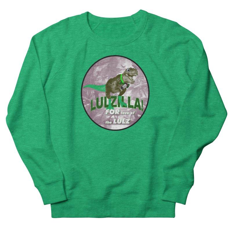 Lulzilla Logo Men's French Terry Sweatshirt by PGMercher  - A Pretty Good Merch Shop