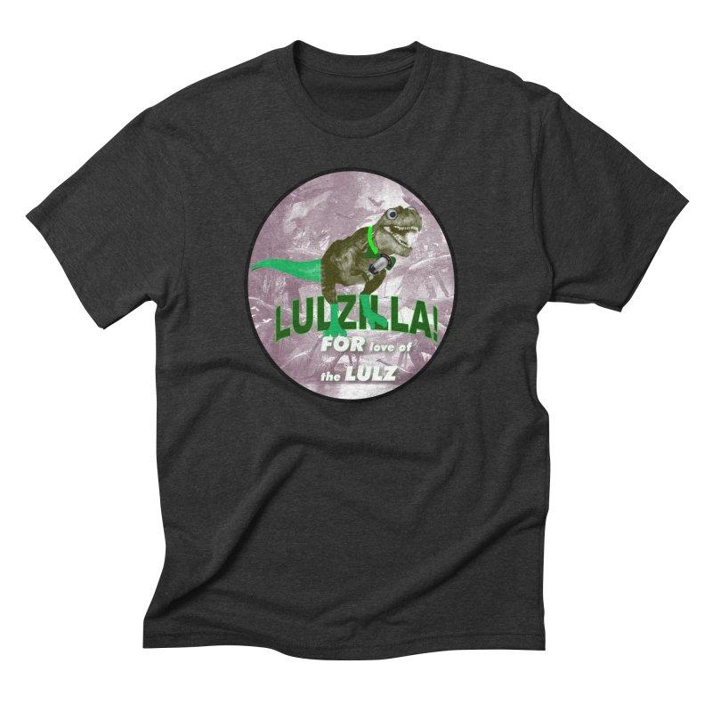 Lulzilla Logo Men's Triblend T-Shirt by PGMercher  - A Pretty Good Merch Shop