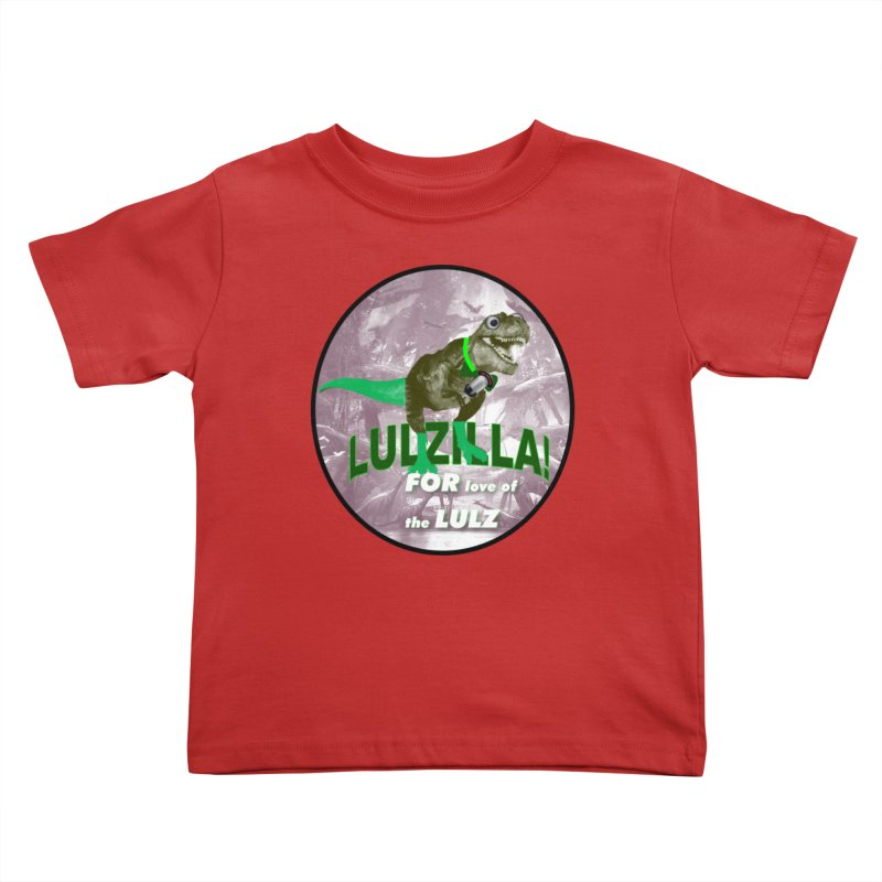 Lulzilla Logo Kids Toddler T-Shirt by PGMercher  - A Pretty Good Merch Shop