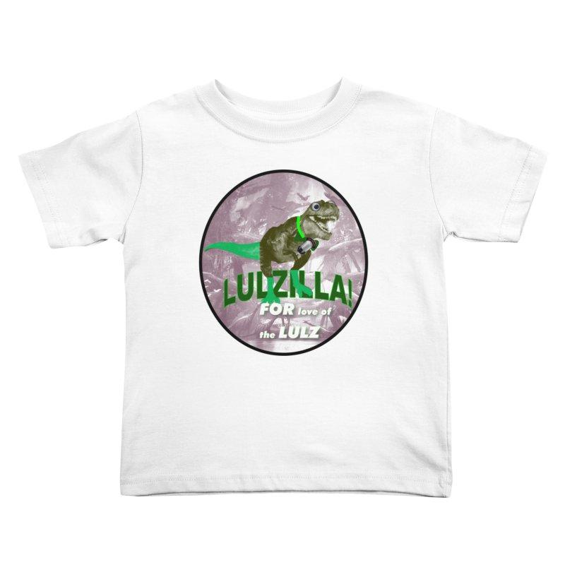 Lulzilla Logo Kids Toddler T-Shirt by PGMercher  - A Pretty Good Merch Shop