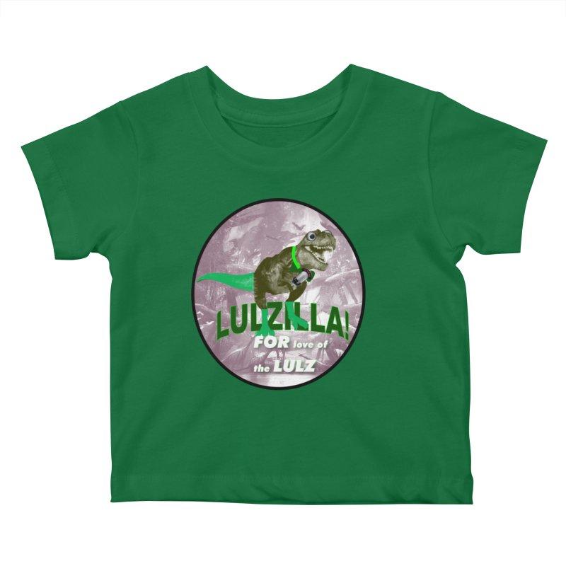 Lulzilla Logo Kids Baby T-Shirt by PGMercher  - A Pretty Good Merch Shop