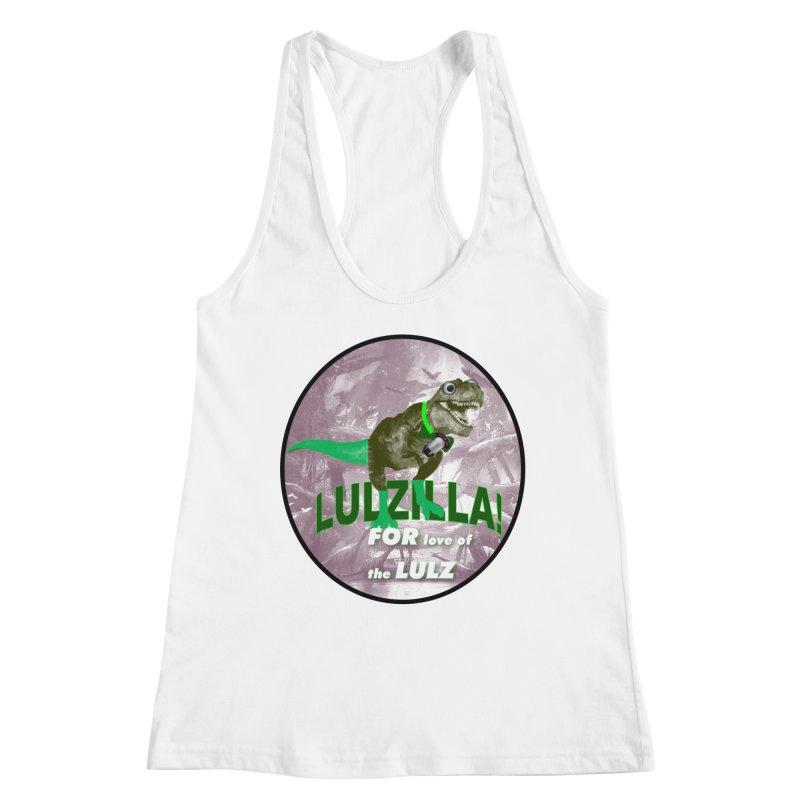 Lulzilla Logo Women's Tank by PGMercher  - A Pretty Good Merch Shop