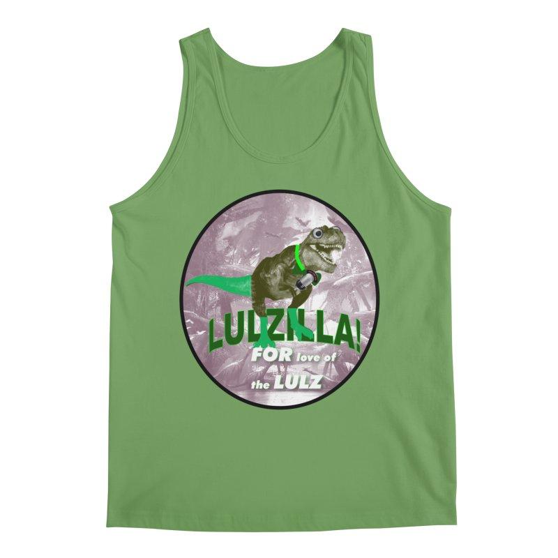 Lulzilla Logo Men's Tank by PGMercher  - A Pretty Good Merch Shop