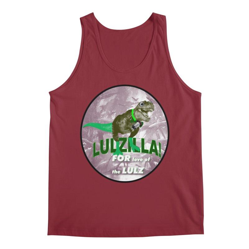 Lulzilla Logo Men's Regular Tank by PGMercher  - A Pretty Good Merch Shop
