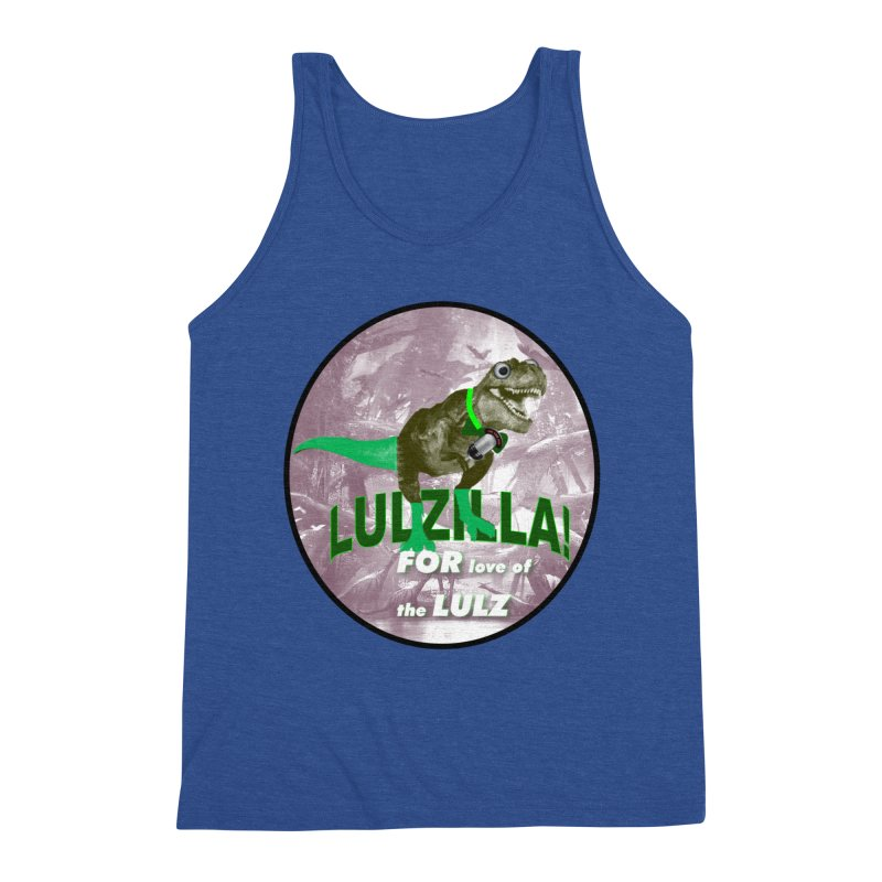 Lulzilla Logo Men's Tank by PGMercher  - A Pretty Good Merch Shop