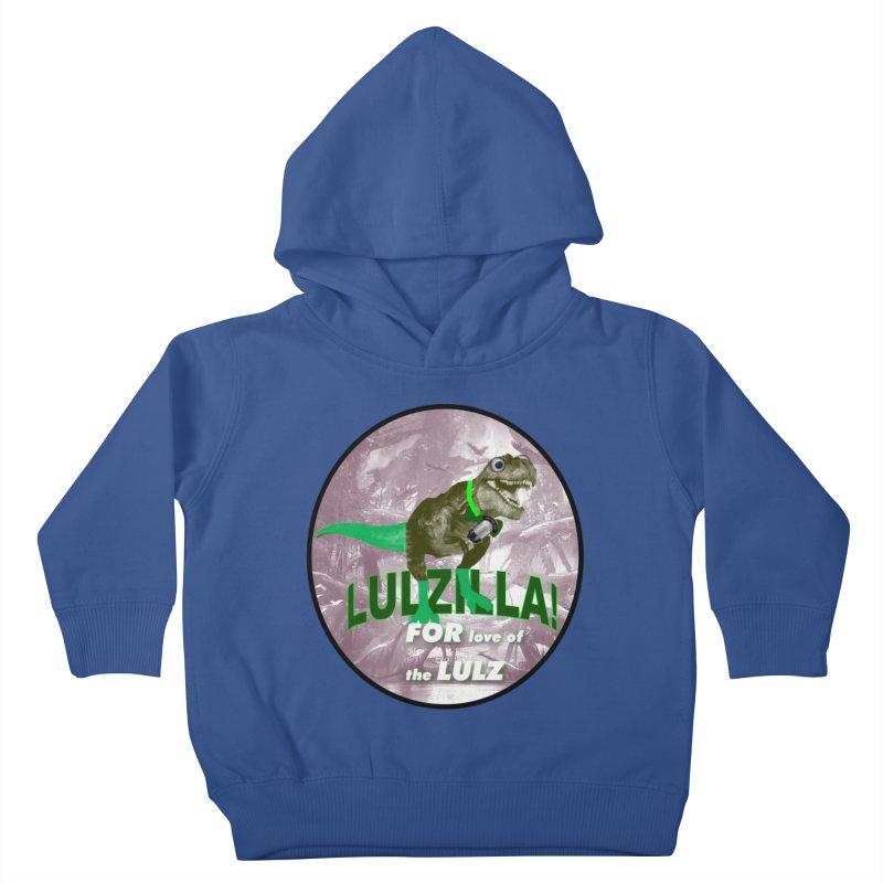 Lulzilla Logo Kids Toddler Pullover Hoody by PGMercher  - A Pretty Good Merch Shop