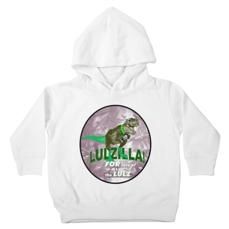 Lulzilla Logo Kids Toddler Pullover Hoody by PGMercher  - A Pretty Good Merch Shop