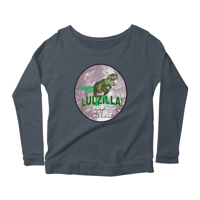 Lulzilla Logo Women's Longsleeve T-Shirt by PGMercher  - A Pretty Good Merch Shop