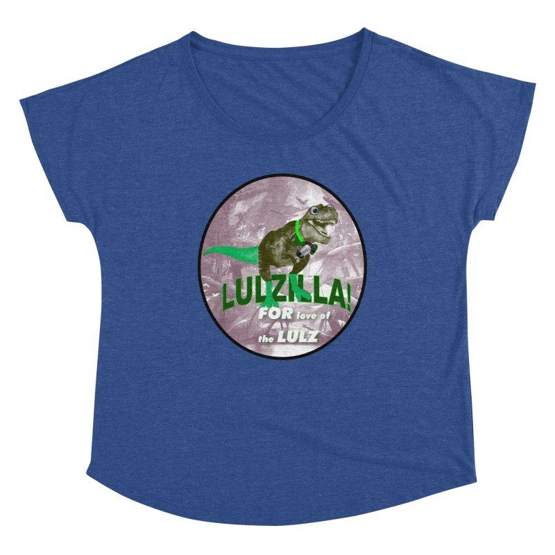 Lulzilla Logo Women's Scoop Neck by PGMercher  - A Pretty Good Merch Shop