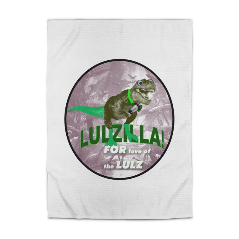 Lulzilla Logo Home Rug by PGMercher  - A Pretty Good Merch Shop