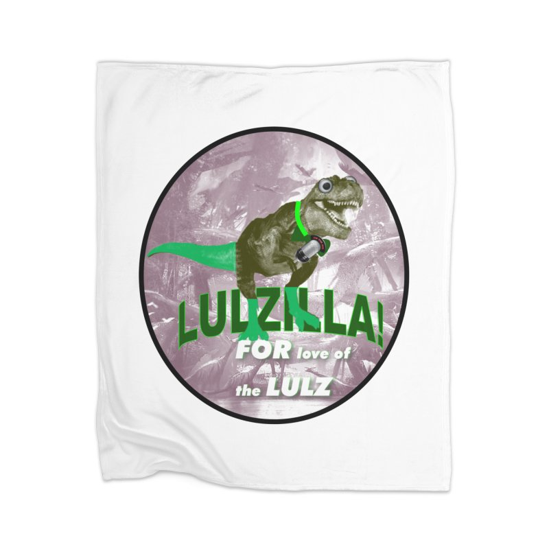 Lulzilla Logo Home Blanket by PGMercher  - A Pretty Good Merch Shop