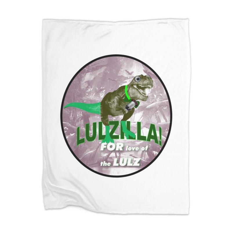 Lulzilla Logo Home Blanket by PGMercher  - A Pretty Good Merch Shop