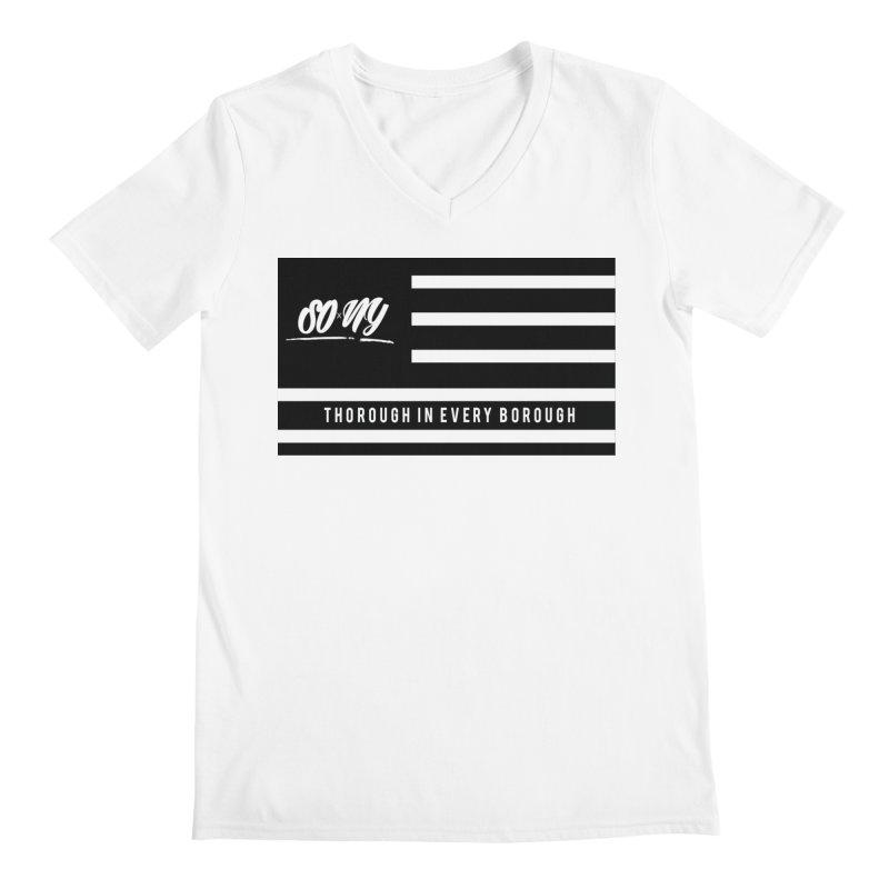 VINTAGE 2020 S.O.xN.Y. FLAG ITEMS   LIMITED Men's V-Neck by SOxNY OFFICIAL SHOP