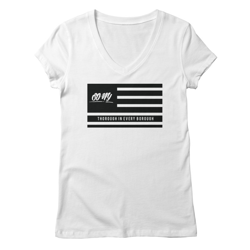 VINTAGE 2020 S.O.xN.Y. FLAG ITEMS   LIMITED Women's V-Neck by SOxNY OFFICIAL SHOP