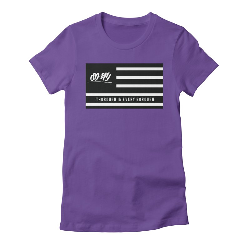 VINTAGE 2020 S.O.xN.Y. FLAG ITEMS | LIMITED Women's T-Shirt by SOxNY OFFICIAL SHOP