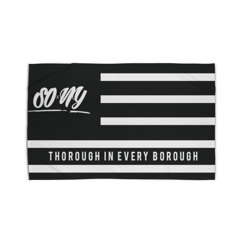 VINTAGE 2020 S.O.xN.Y. FLAG ITEMS | LIMITED Home Rug by SOxNY OFFICIAL SHOP