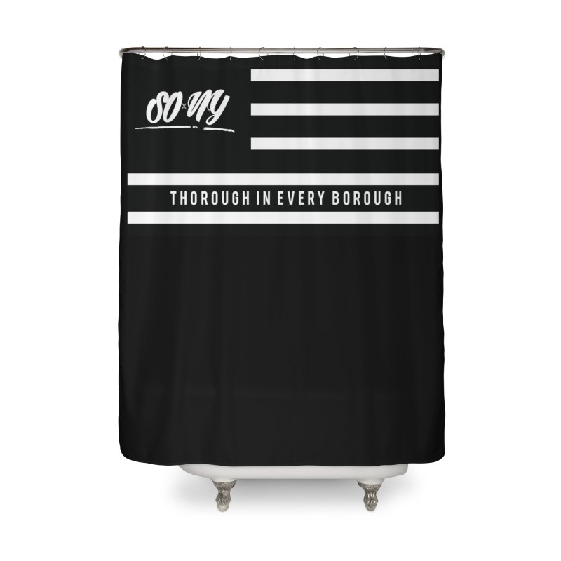 VINTAGE 2020 S.O.xN.Y. FLAG ITEMS | LIMITED Home Shower Curtain by SOxNY OFFICIAL SHOP