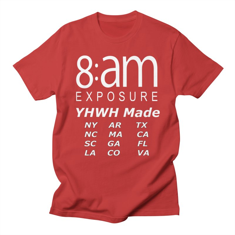 8am Exposure CEO Collection Men's T-Shirt by SOxNY OFFICIAL SHOP