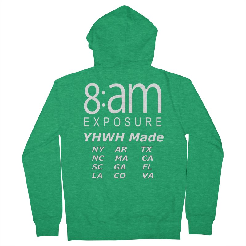 8am Exposure CEO Collection Men's Zip-Up Hoody by SOxNY OFFICIAL SHOP