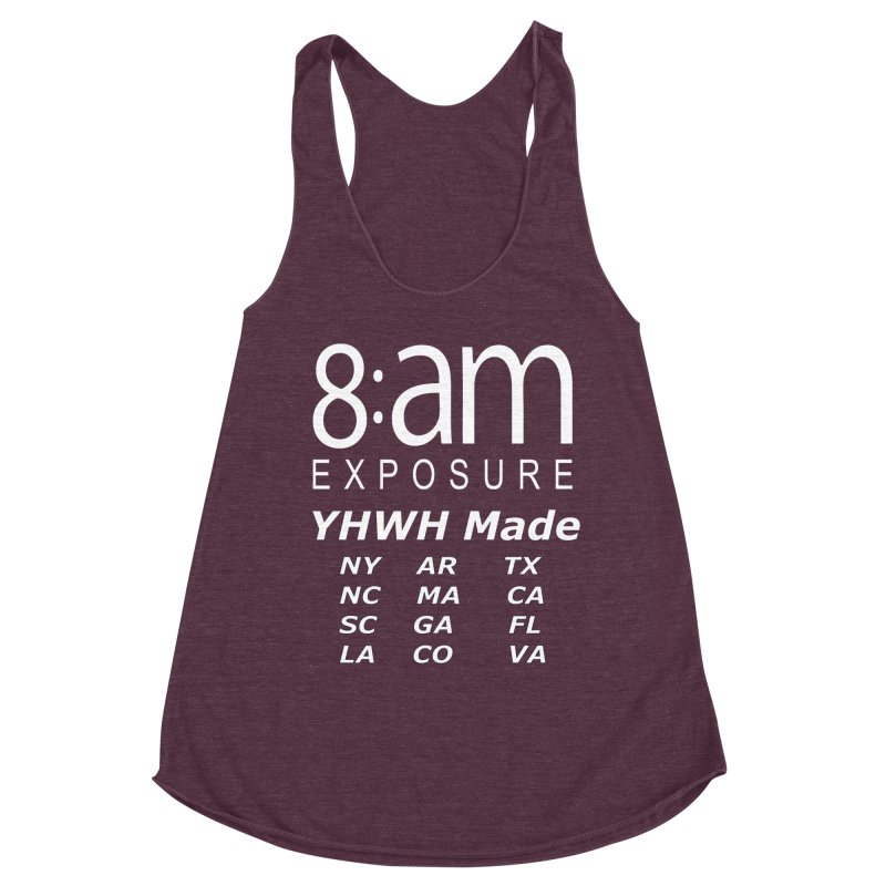 8am Exposure CEO Collection Women's Tank by SOxNY OFFICIAL SHOP