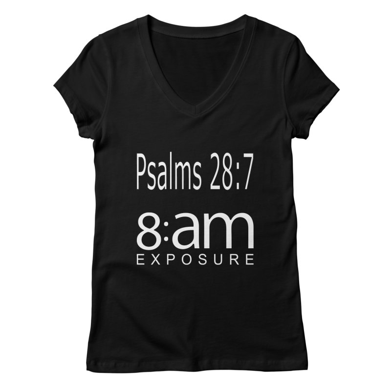 The Lord is my STRENGTH Collection Women's V-Neck by SOxNY OFFICIAL SHOP