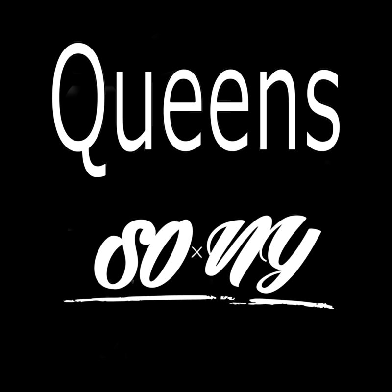 Queens LIMITED S.O.xN.Y. Tee Women's V-Neck by SOxNY OFFICIAL SHOP